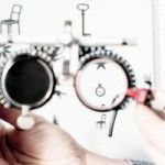 urządzenie do badania  okulistycznego